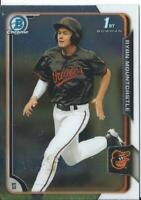 2015 RYAN MOUNTCASTLE Bowman Chrome Draft RC Rookie card   ORIOLES