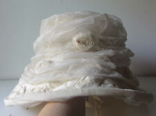 Vecchio Cappello da cerimonia /sposa - color bianco  - matrimonio