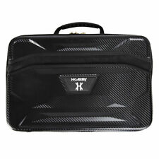 Hk Army Exo Xl Marker Case Black Carbon Fiber W/ Gold Zippers - Paintball