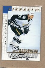 guy carbonneau dallas stars auto be a player card 1997/98