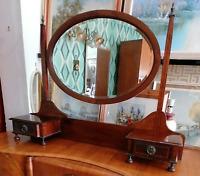 Edwardian dresser mirror unit with drawers Ref 2422