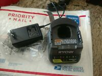 NEW Ryobi P118B 18V ONE+ 18-Volt ONE+ Lithium-Ion Battery Charger