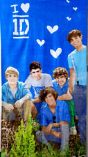 One Direction Band Officially Group pic on grass Beach Bath Towel Velour 30X 60