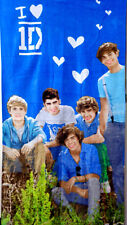 One Direction Band Officially Group pic on grass Beach Batch Towel Velour 30X 60