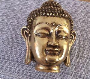 Buddha Kopf Kunstguss ? Thailand Budda Figur Skulptur