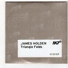 (FQ883) James Holden, Triangle Folds - DJ CD