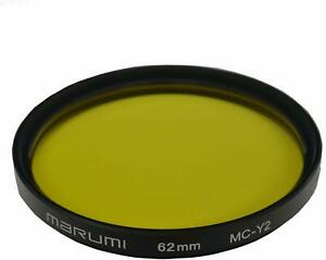 MARUMI Camera Filter MC-Y2 62mm For Monochrome Shooting 004107