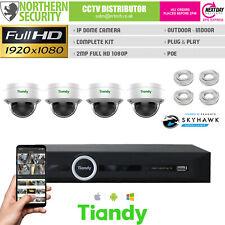 2MP Dôme Poe Caméra IP CCTV Micro Acoustique Kit Lot Sécurité Système Lite Série