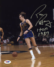 Rick Barry SIGNED 8x10 PHOTO + HOF 87 Golden State Warriors PSA/DNA AUTOGRAPHED