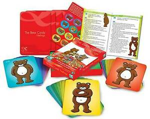 The Bear Cards: Feelings by John Veeken 2nd edition 48 cards showing emotions