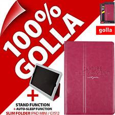 Golla Rosa Sottile Custodia per Apple iPad Mini 1 2 3 con supporto Smart