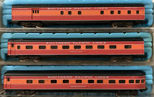 N Scale Atlas Southern Pacific Daylight Illuminated  Passenger 3 Car Set NOS SP