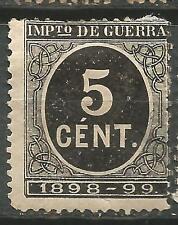 España Spain Edifil # 236 (*) Cifra Impuesto de Guerra