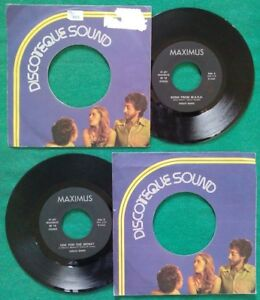 """7""""45 Giri DISCO BAND Song From M.A.S.H./One For The Money Italy Funk Disco no lp"""