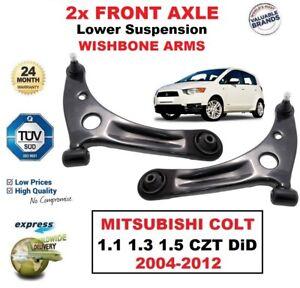 2x Vorne Untere Querlenker für Mitsubishi COLT 1.1 1.3 1.5 Czt DID 2004-2012