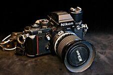 Nikon f3 hp with 35 f2.0 lens + Nikon AS-4