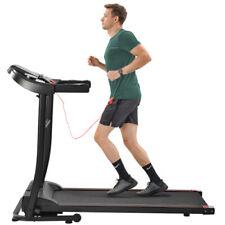 Portable Electric Folding Treadmill Cardio Machine 260lb Weight Limit