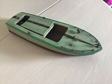 vintage wooden model Speed boat