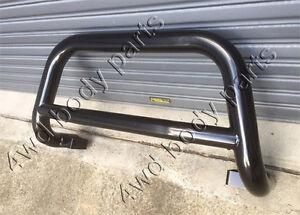 3 Inch Black Steel Low Loop Nudge Bar for Toyota Hilux Workmate SR SR5 2018-2020