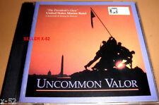 UNCOMMON VALOR cd USA united states MARINE BAND Bourgeois MEDLEY commando march