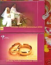 NEDERLAND   Officiële Huwelijks Euromunt Bu Set    2002  van KNM