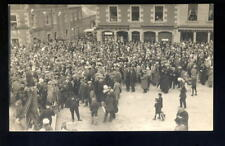 More details for scotland selkirk common riding 1920 busy scene rp ppc