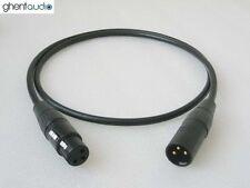 A03 (4m 13ft)---Single Balanced XLR(m/f) 3Pin Canare L-4E6S Audio/Micro Cable