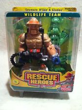 Rescue Heroes Wildlife Team Seymore Wilde & Glades Factory Sealed!