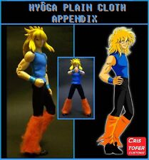 HYOGA CISNE PLAIN CLOTH APPENDIX, para SAINT SEIYA MYTH CLOTH CYGNUS ropa civil