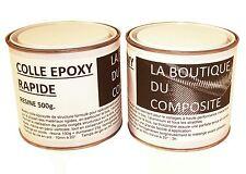 Kit de 625g de COLLE EPOXY bi-composants pour collages et joints congés.