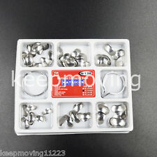100 Pcs Dental Matrix Sectional Contoured Metal Matrices No.1.398 lmws 35um Hard