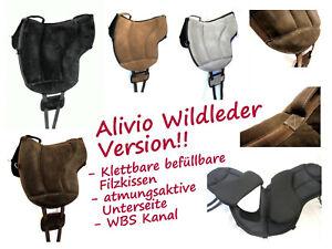 """WILDLEDER """"ALIVIO"""" Reitpad mit WBS Kanal & Kammeraufbau durch befüllbare  ..."""