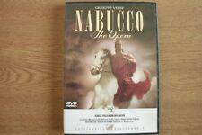 VERDI - Nabucco (DVD) . FREE UK P+P ............................................