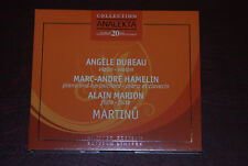Marc-Andre Hamelin/Angele Dubeau/Alain Marion: Martinu, Analekta Limited Edition