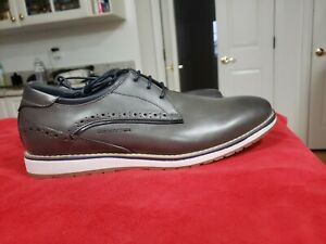 Harrison Myles Mens Gray Shoes Lace Up Shoes C 1701 Size 11 New Without Box