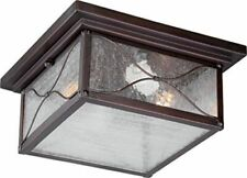 Nuvo 60-5616 - Outdoor Flush Mount Fixture in Classic Bronze Finish