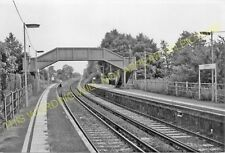 Chilham Railway Station Photo. Chartham - Wye. Canterbury to Ashford Line. (6)