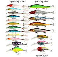 Fishing Lure Set Kit Minnow Popper Crankbaits Wobblers Spinner Isca Bait For Sea