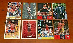 8 MICHAEL JORDAN Upper Deck Card Lot-1992-1999-Great Cards-No Reserve