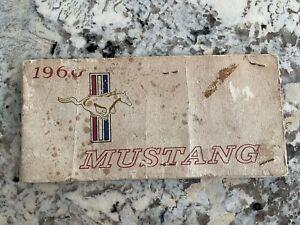 1966 Mustang Owners Manual 66