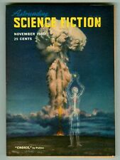 Vintage ASTOUNDING SCIENCE FICTION Magazine! November 1950! Anderson! de Camp!
