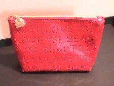 "Ysl - Red Beaute Love Cosmetics Bag - 7,5 x 5 x 2 "" - New"