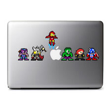 8-Bit Retro The Avengers Decal for MacBook Pro, DELL, iPhone 8, iPads, iPhone X