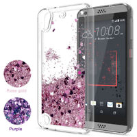 For HTC U11 U12 Plus 650 530 Case Liquid Glitter Quicksand Clear Soft TPU Cover