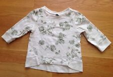 Baby Gap LS Cute Floral Birds Printed Sweatshirt~Size 5