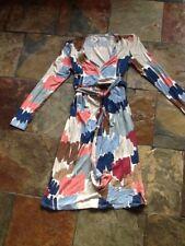 Boden Ladies Wrap Dress Size UK 12 L. BNWT Ex Catalogue Multicolour Lovely