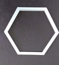 Sizzix Die Cutter HEXAGON SHAPE 5.5cm x 6.5cm  Thinlits fits Big Shot Cuttlebug