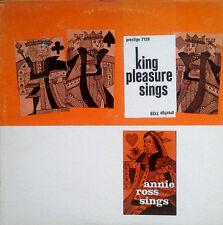 KING PLEASURE SINGS, ANNIE ROSS SINGS - PRESTIGE 7128 - REISSUED LP