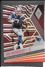 2017 Panini Phoenix Rob Gronkowski Red Base Set Card, #23, #'d 216/299