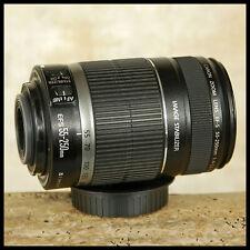FREE UK POST Canon EOS EFS AF Image Stabilizer 55 250mm IS Fits crop sensor DSLR